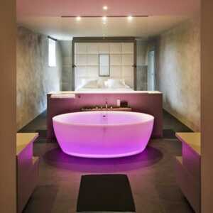 Clever Ways to Incorporate Technology in Your Bathroom - chromotherapy