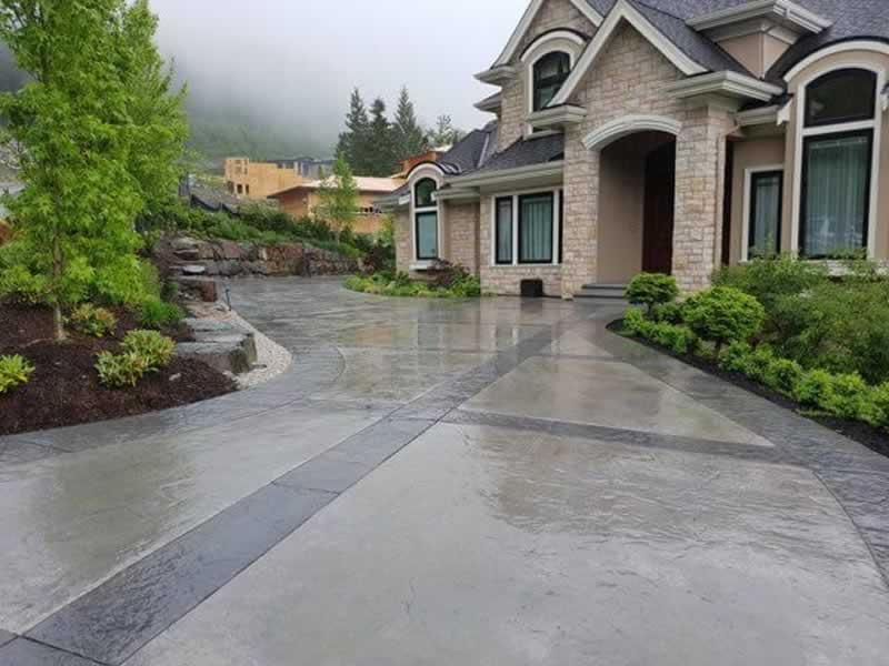Concrete Driveway Vs. A Brick Driveway