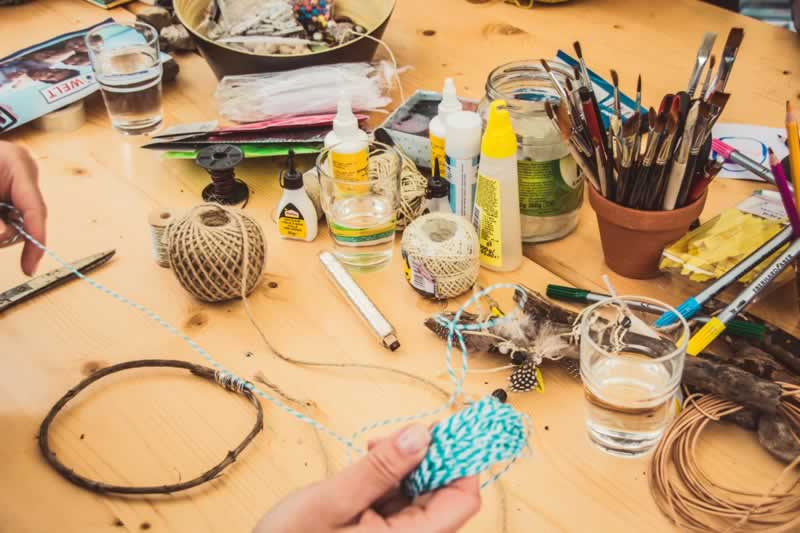 DIY Craft Ideas for Creative Beginners - craft supplies