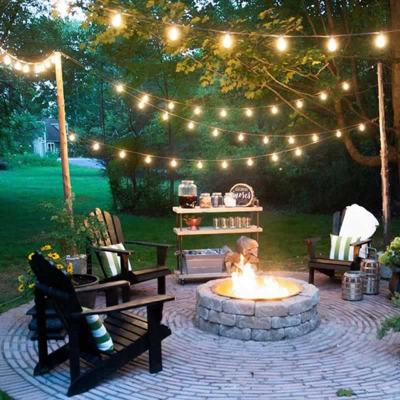 Electrical Considerations for Upgrading Your Backyard - string lights