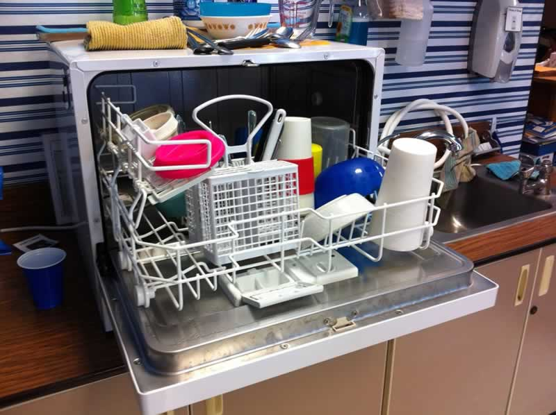 How To Equip A Small Kitchen - dishwasher