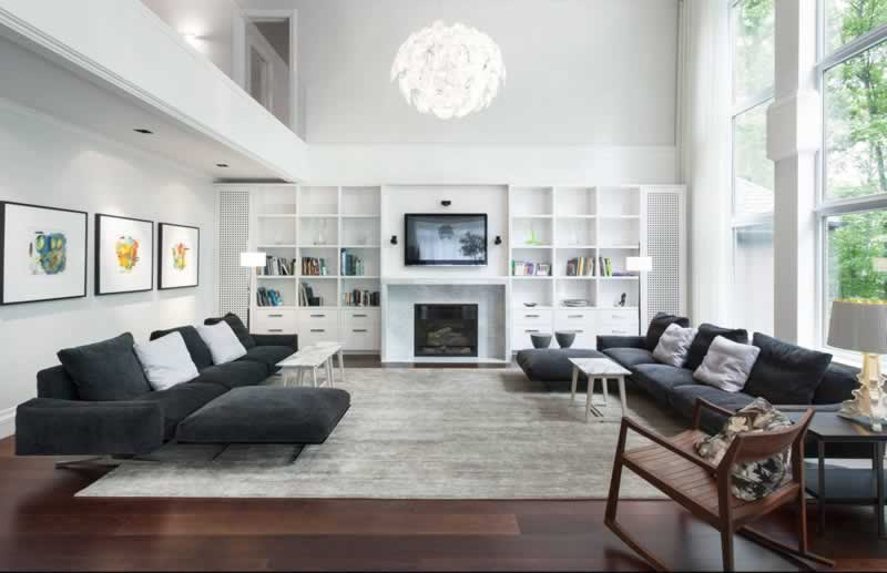 How to Keep a Big House in a Good Shape - living room