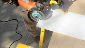 How to cut tiles with the help of Angle Grinder- cutting tile