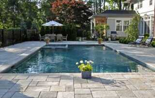 Pool Decks - Pavers Vs. Stamped Concrete