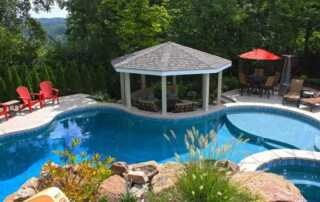 Pool Decks with Gazebos are Trending Right Now - amazing pool deck