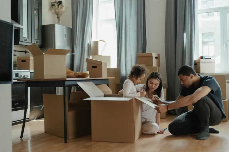 Stress-free techniques of moving to a new home
