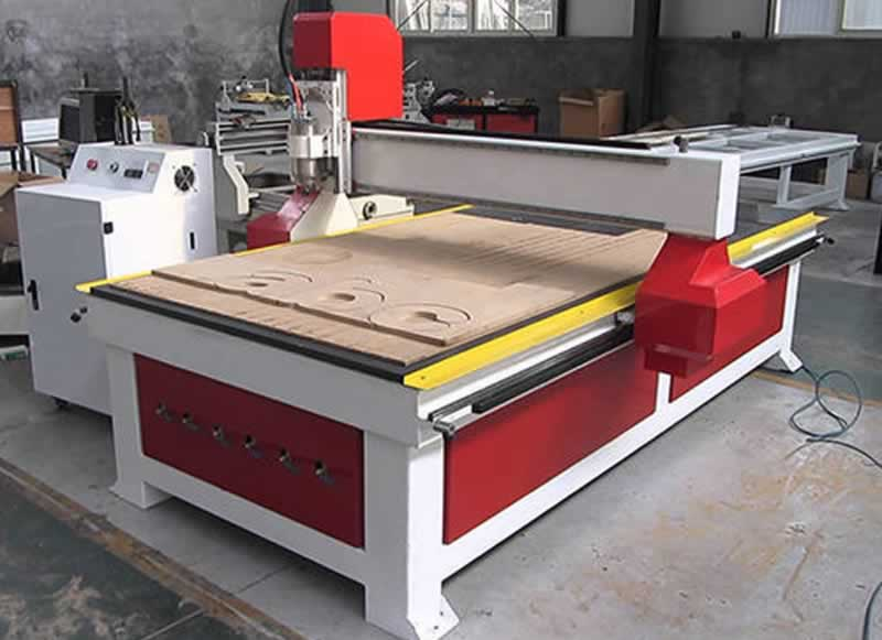 The CNC Wood Router - machine