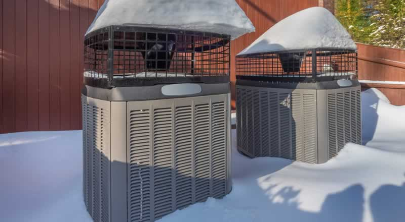 Tips To Prepare Your HVAC System for Winter - snow
