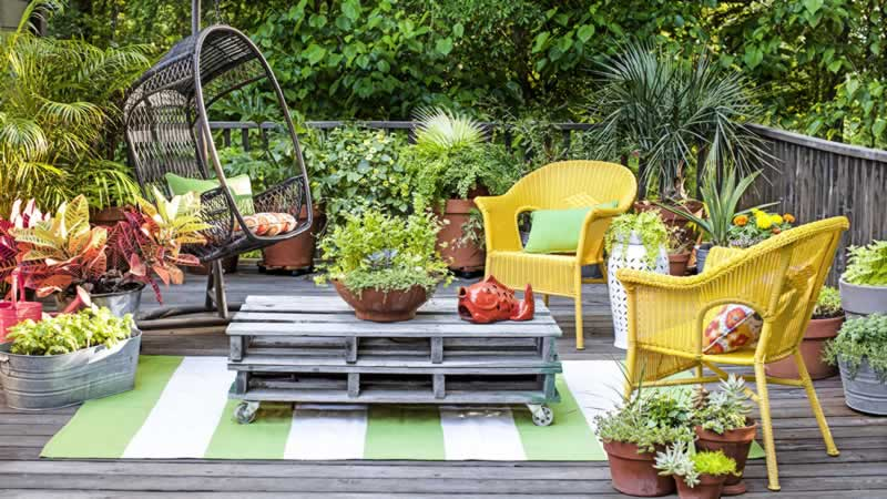 Top 3 Ways to Get the Most Out of a Small Garden - seating area