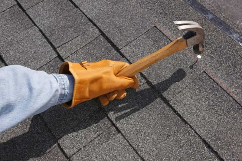 Top Factors to Consider in A Roof Repair Service Provider - nailing
