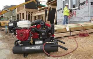 What is the 20 gallon air compressor - construction