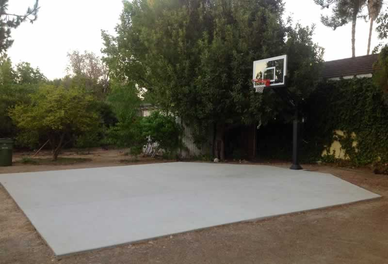 What is the Best Type of Concrete for a Basketball Hoop
