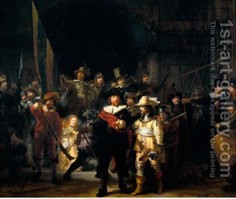 11 Oil Paintings Which will be Perfect for Your Living Room - the night watch