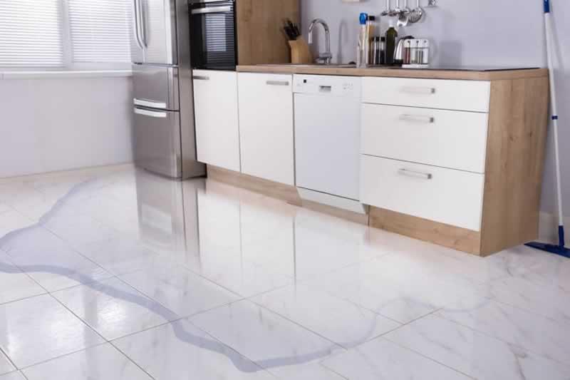 Appliance malfunction water damage
