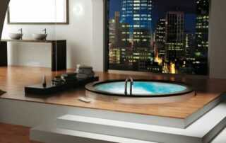 Building a spa with excellent aesthetics - home spa