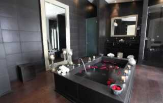 Creating a Spa Style Bathroom at Home - amazing bathroom