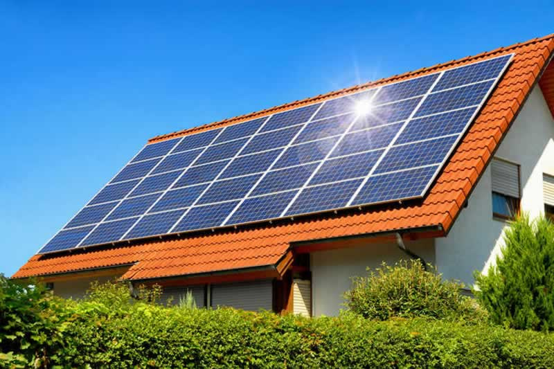 Five reasons why you need to invest in solar panels - solar panels on home