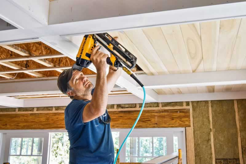 How To Remove Your Ceiling Without Destroying Other Parts Of The Home - new ceiling