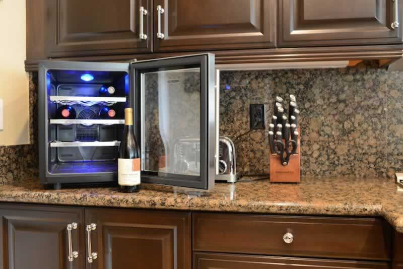 How to Get the Best Wine Fridge - countertop wine cooler
