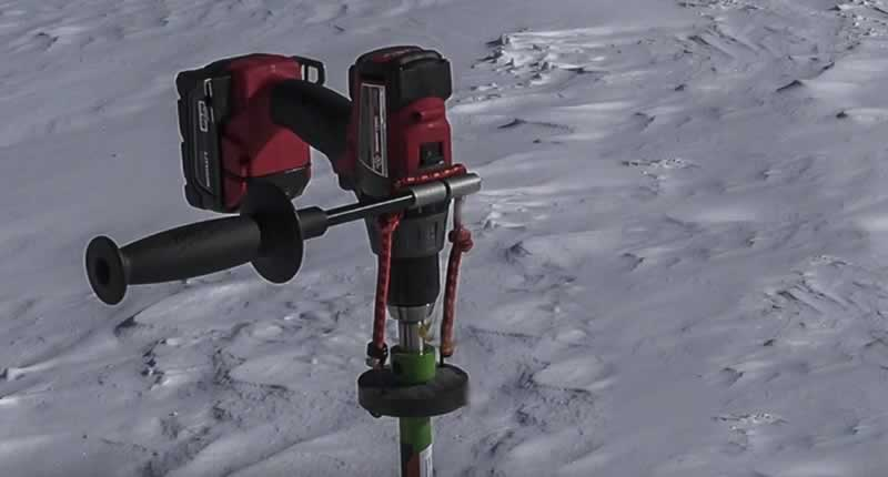 What Kind of Drill Do I Need for Ice Auger - ice auger