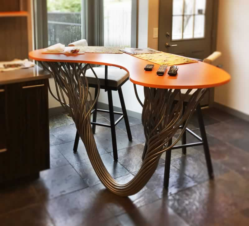 4 Things Where You Can Apply Creative Metalworks - table