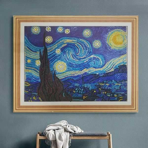 6 DIY Ideas for Diamond Painting Enthusiasts - frame it