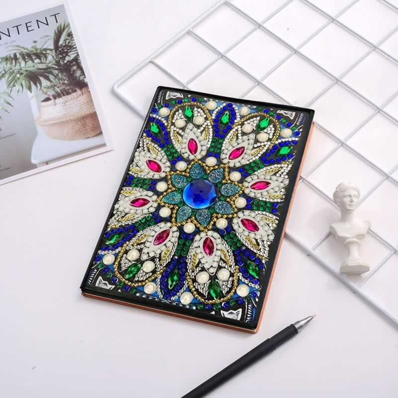 6 DIY Ideas for Diamond Painting Enthusiasts - notebook cover
