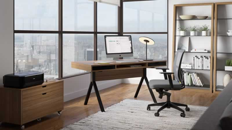 6 Top Tips For Cleaning and Decorating Your Home Office - modern home office