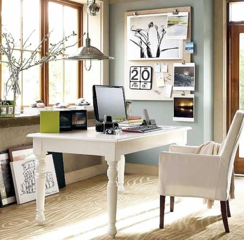 6 Top Tips For Cleaning and Decorating Your Home Office