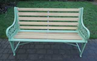 7 Important Tips on How to Clean Rusty Outdoor Metal Furniture and Decors - restored bench