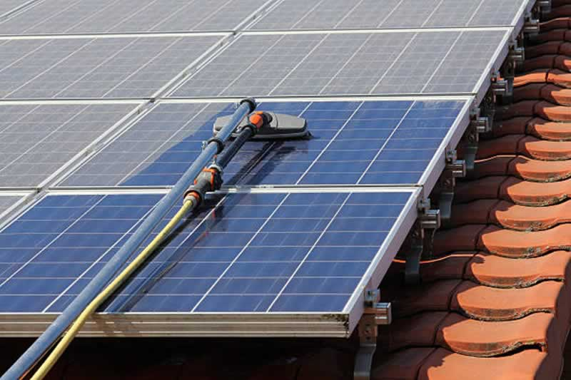 All You Need To Know About Solar Panel Cleaning - cleaning