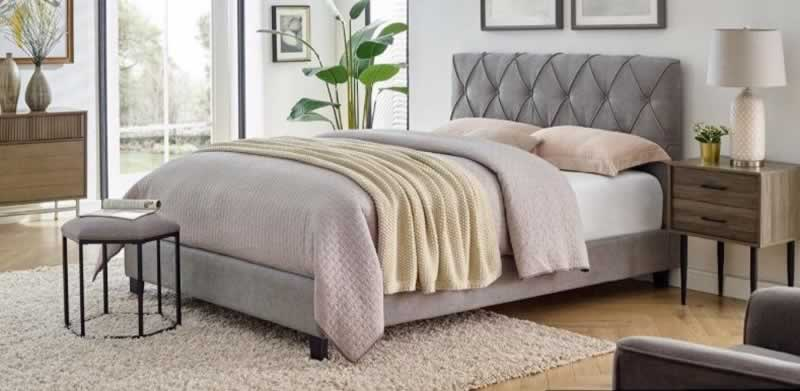 Bedroom Makeover with right Fabric - chenille fabric