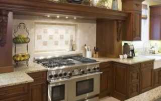 Decorate the Space Above Your Kitchen Cabinets