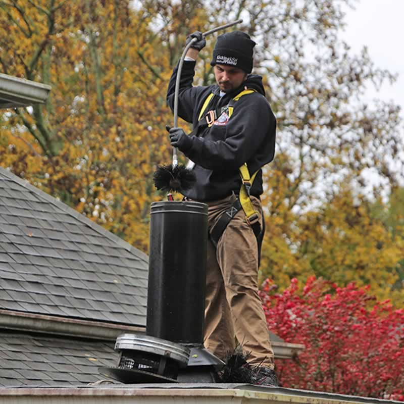How Often Should a Chimney Be Cleaned - chimney cleaning