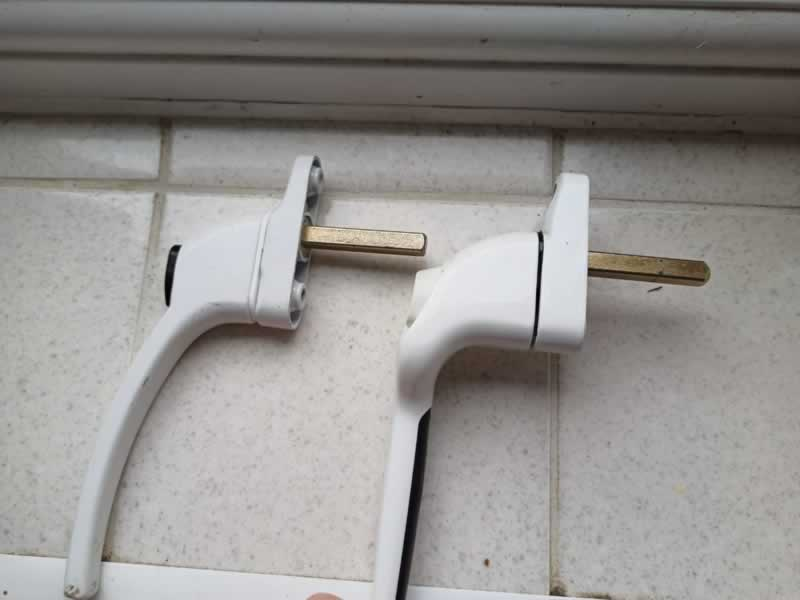 How To Unlock And Change A UPVC Window Handle - step 6