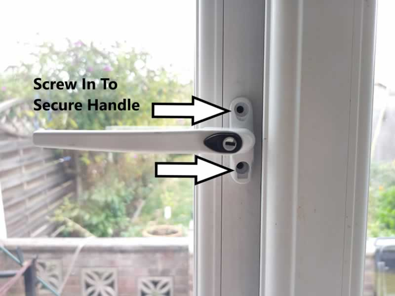 How To Unlock And Change A UPVC Window Handle - step 7