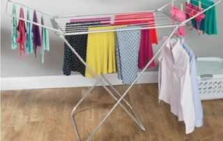 How to Humidify a Room Without a Humidifier - drying clothes