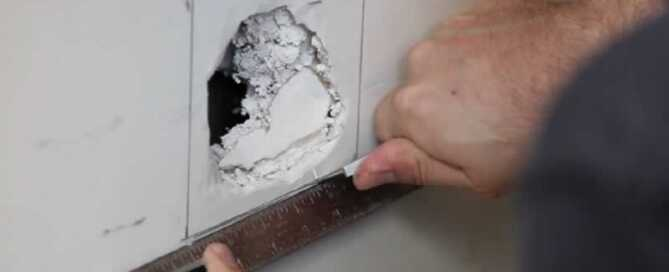 How to Repair Your House After Damages - fixing hole in the wall