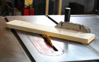 Table Saw Miter Gauge - cutting