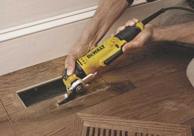 The Ultimate Guide to New Generation Oscillating Tools - cutting floor