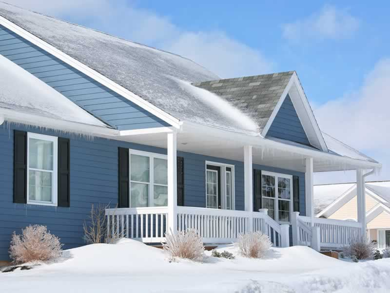 Top Things To Check In Your Home Before Winter - house in winter
