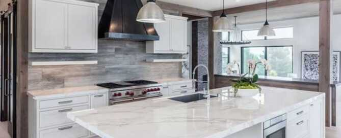 What Are the Main Differences Between Honed and Polished Marble Countertops
