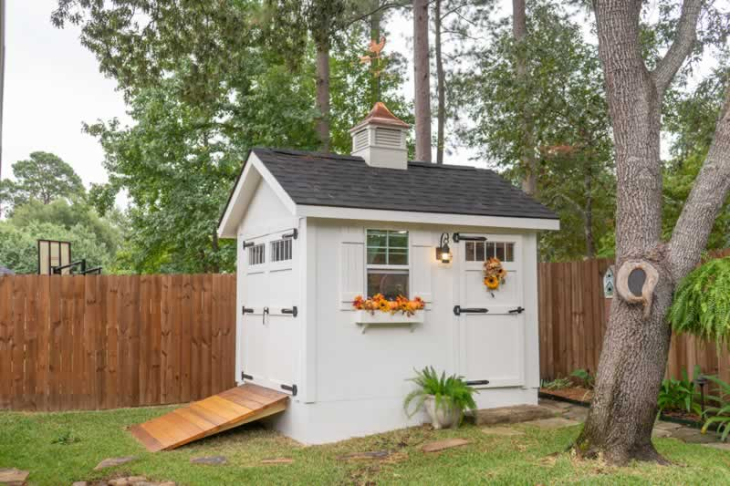 What are the advantages of backyard storage sheds - amazing shed