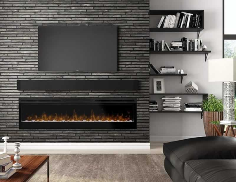 A Short Guide on Trending Electric Fireplace - built in fireplace