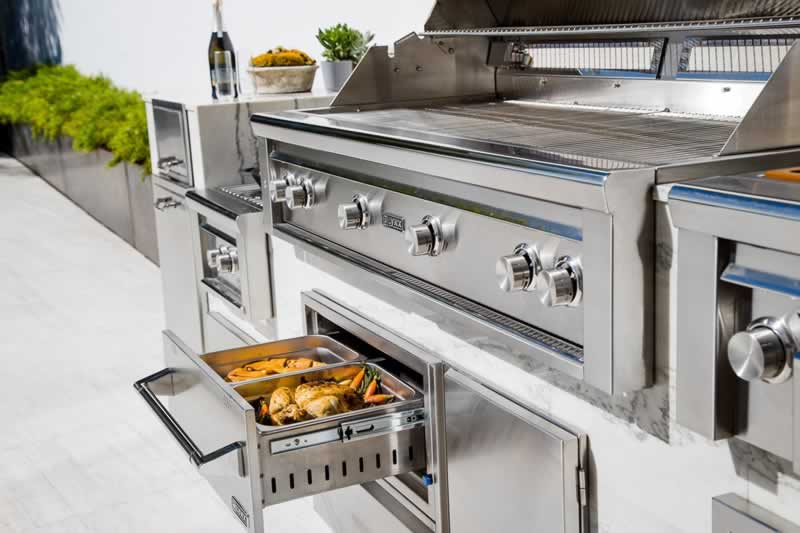 Appliances You May Consider Adding to Your Outdoor Kitchen - warming drawer