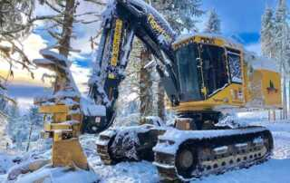 Best Practices for Operating Heavy Equipment During the Winter Season - tigercat