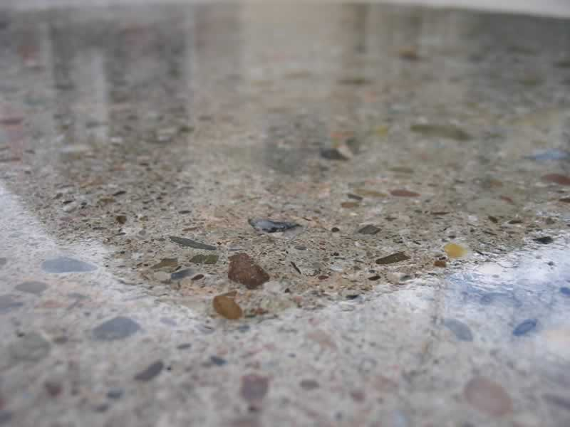 Can Old and Worn Out Concrete Be Polished - polished halfway