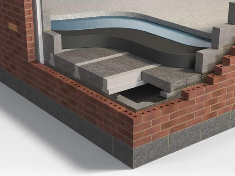 Five great benefits of beam and block flooring - floor structure