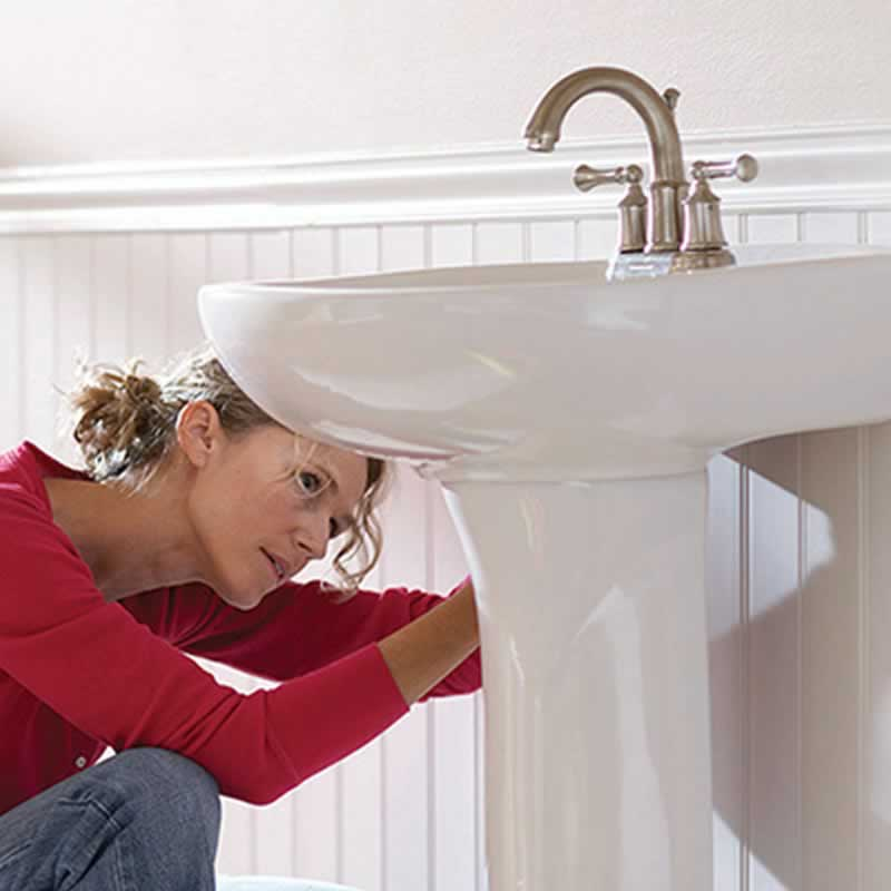 How to Move a Bathroom Sink