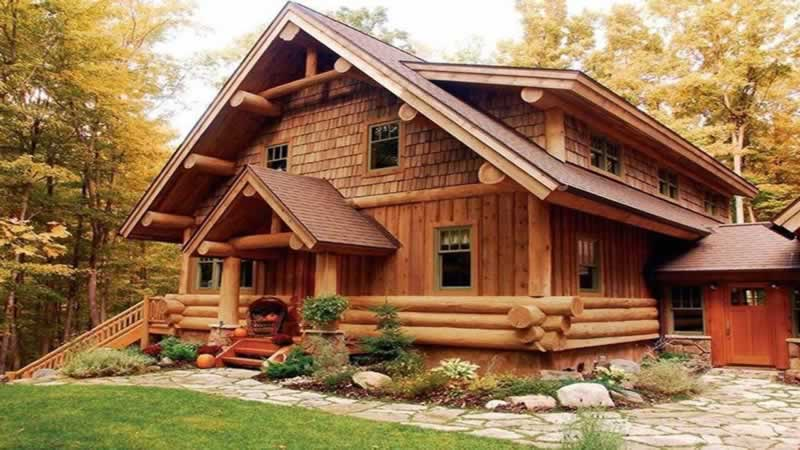 Pros and Cons of Wooden Houses - log homes